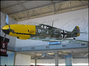 Aeronaves do museu da Tam.