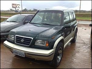 Vitara V6 1998, original com pneus 235-75 R16, automático.
