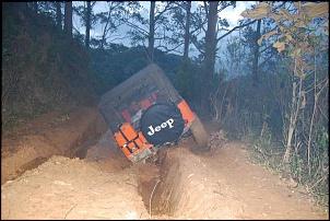 Um maluco que foi literalmente pro buraco...hahahha