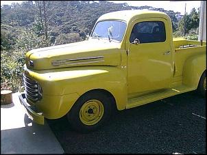 Pick-up Ford F-1 1948. Motor Flathead Ford V8 239ci.