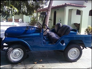 jeep cj5 em reforma