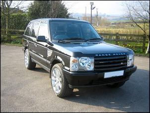 range rover 1998 com a frente do Modelo 2003 Grade + farois e setas