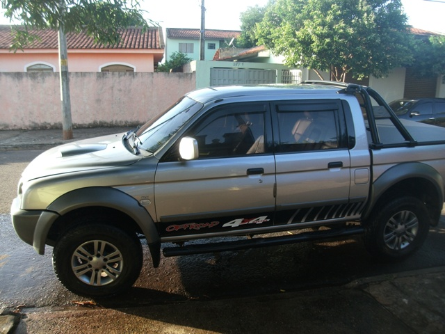 MITSUBISHI L200 OUTDOOR HPE TURBO DIESEL 4X4 2008