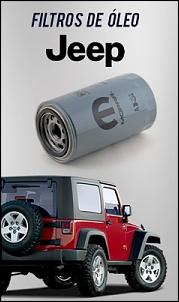 Filtros de óleo Jeep