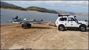 Represa Funil dia de pesca.