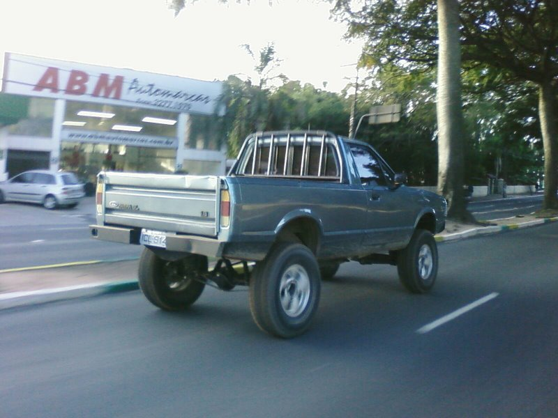 D Tracao X Na Ford Courier Pampa on Dodge Dakota Sport 4x4