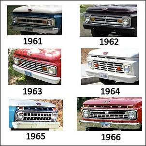 Gerações da pick up Ford F 1000  ( F Series)-f1000-geracao-2.jpg