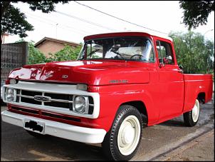 Gerações da pick up Ford F 1000  ( F Series)-f100-farol-redondo.png
