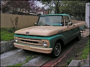 Gerações da pick up Ford F 1000  ( F Series)-f100-61-original.jpg