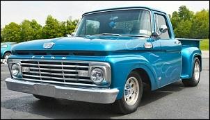 Gerações da pick up Ford F 1000  ( F Series)-f100-63-step-side-4.jpg