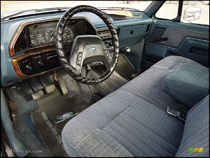 Gerações da pick up Ford F 1000  ( F Series)-f100-88-interior.jpg