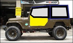 CJ5 1970 - Mais uma saga-esboco-capota-jeep4.jpg