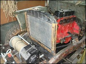 """CJ3A - 1951 """"Mula Mecânica""""-suporte-radiador-e-outros-031.jpg"""