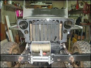 """CJ3A - 1951 """"Mula Mecânica""""-suporte-radiador-e-outros-039.jpg"""