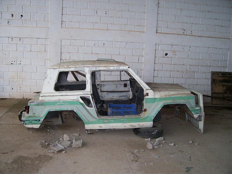 Gurgel X 12 Montado No Chassis Do Jeep