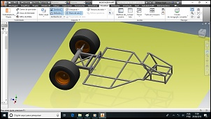 Kart Cross com motor lateral e suspensão independente-chassi.jpg