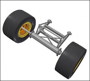 Kart Cross com motor lateral e suspensão independente-5.jpg