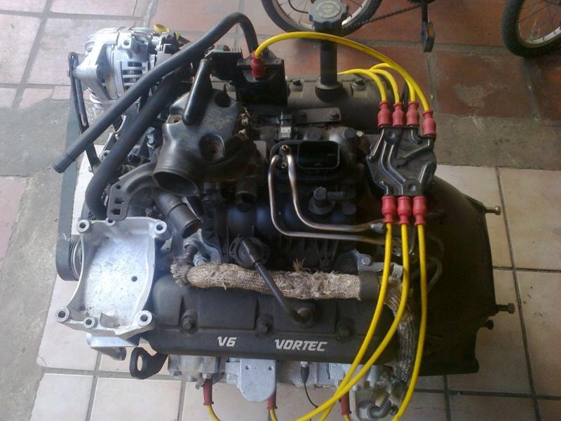 Motor Vortec V6 X Cambio Clark 240v X Redu 199 195 O Da Band
