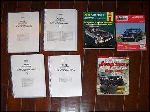 Cherokee XJ 99: rejuvenescimento-livros.jpg