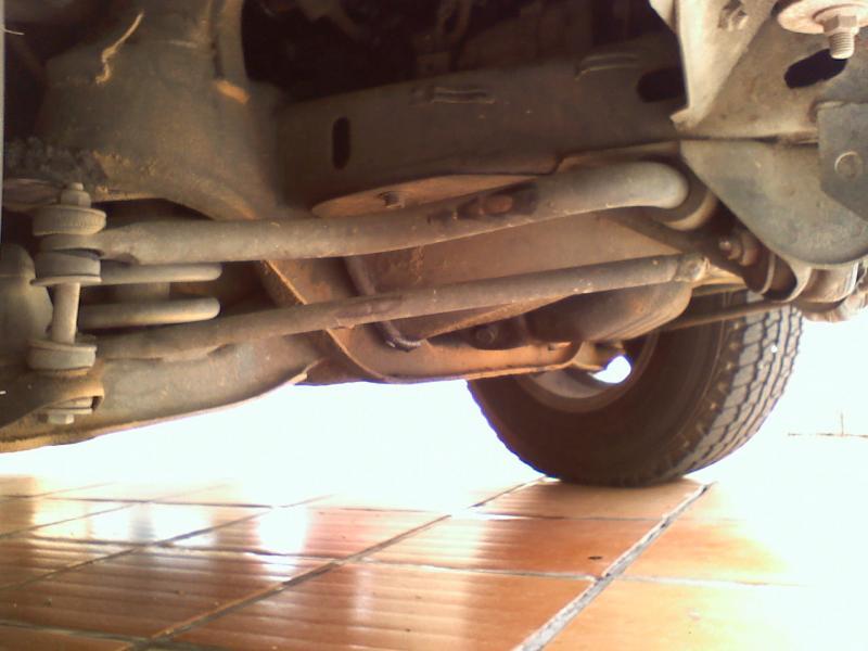 Jeep Cherokee Xj >> Suspensão da L200 4x2