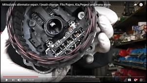 Pane eletrica Pajero full 3.2 hpe 2004 automática-alternadorpajero.jpg
