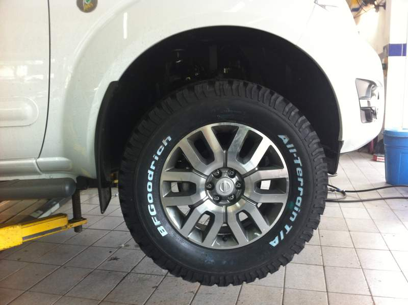 Nissan Frontier Off Road >> Frontier sl - 10 anos - r18 + bf goodrich