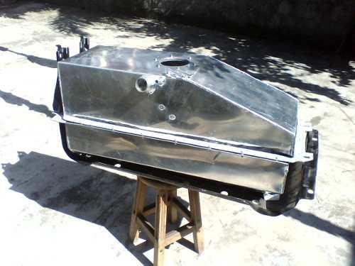 Tanque De Alum 237 Nio Para Xterra Frontier 2 8 Mwm