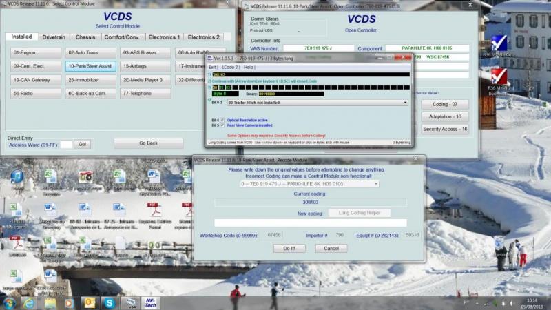 Diagnóstico da Amarok - Ferramentas Ross Tech VCDS - Página 2