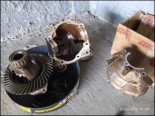 """GV3 2009 - Perfumarias e Lift 1 1/4"""" feito em casa-gv3-v6-diferencial-dianteiro-com-rolamento-solto-de-fabrica-2-.jpg"""