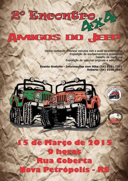 calendario trilhas jeep rs 2018