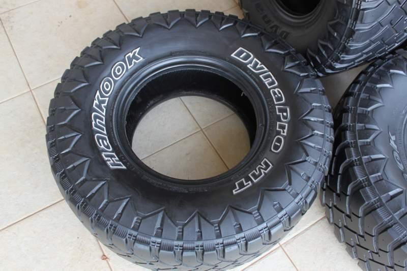 4 Pneus Mud 33x12 5x15 Quot Hankook Dyna Pro Mt