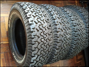 Bf Goodrich All Terrain >> Vendo 4 pneus 235/70/r16 all- terrain t/a bf goodrich ...