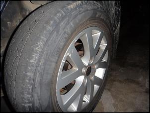 """Troca com troco rodas TR4 17'' com pneus por roda modelo antigo de 16"""" ou similar.-dianteira-esquerda.jpg"""