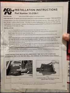 Vende-se Filtro de Ar K&N 33-2106-1 para RANGER, EXPLORER e MAZDA-kn3.jpg