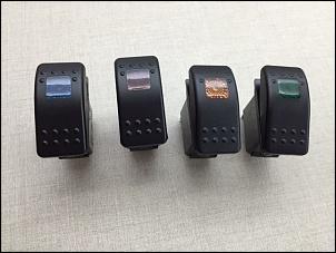 Vende-se: Coluna lateral de botões para Jeep Wrangler-img_2953.jpg