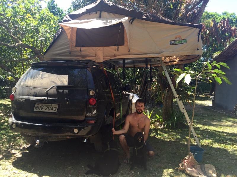 Jeep Cherokee Off Road >> Vendo Barracas de Teto Automotiva Blue Camping com Luz de LED