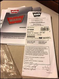 Vendo Guincho Warn Xd9000i Semi novo-17105820_1315356205177691_1135093948_o.jpg