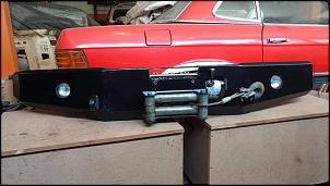 Parachoque de ferro RC 4x4x - Grand Vitara e Tracker + Guincho Winch 9.000-22539824_1716942351680363_349953932581895982_n.jpg