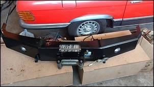 Parachoque de ferro RC 4x4x - Grand Vitara e Tracker + Guincho Winch 9.000-22554937_1716942331680365_992729215607993006_n.jpg
