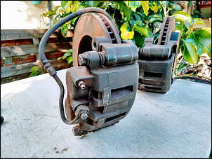 Freio Dianteiro completo da S10 4X4 1995 a 2011 - R$ 800-3break.jpg