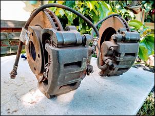 Freio Dianteiro completo da S10 4X4 1995 a 2011 - R$ 800-4break.jpg