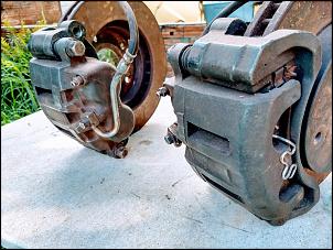 Freio Dianteiro completo da S10 4X4 1995 a 2011 - R$ 800-5break.jpg