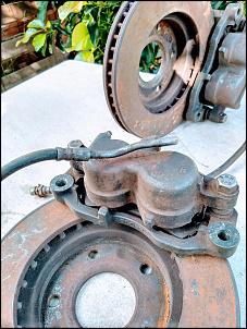 Freio Dianteiro completo da S10 4X4 1995 a 2011 - R$ 800-img_202dr-2.jpg