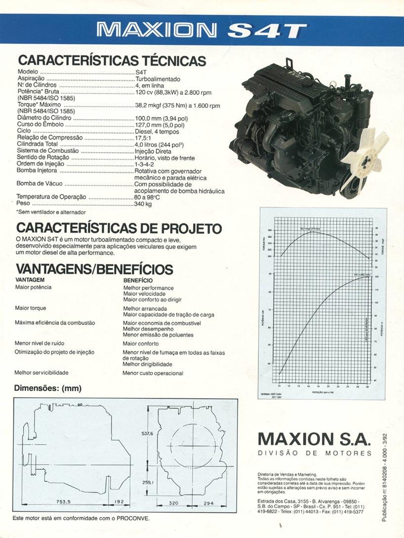 Motor Maxion Turbo S4T