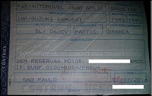 Vendo ou TROCO Suzuki Samurai 200% Bloqueado - 1993-doc.jpg