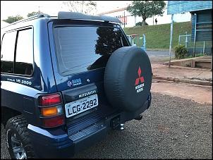 Mitsubishi Pajero GLS-B TOP 3.5 V6 1998 Automático - 2 portas Super Conservado!!-pajero-traseira.jpg