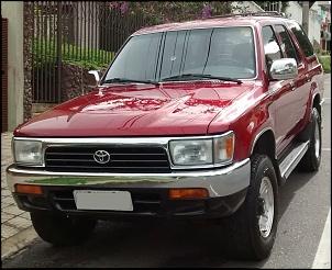 Toyota Hilux SW4 SR5 1994 4x4 - vermelho metálico Toyota Garnet Pearl-img_20160109_162946833.jpg