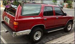 Toyota Hilux SW4 SR5 1994 4x4 - vermelho metálico Toyota Garnet Pearl-img_20160109_162909978.jpg